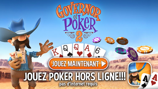Code Triche Governor of Poker 2 - OFFLINE POKER GAME APK MOD (Astuce) screenshots 1