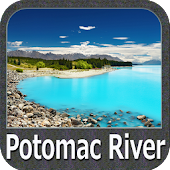Potomac River - Washington gps map navigator