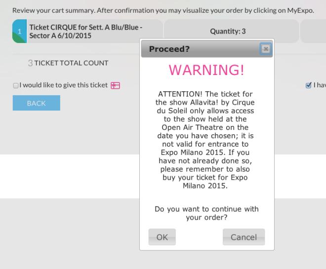 太陽劇團購票警示