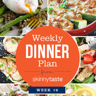 Skinnytaste Dinner Plan (Week 76).