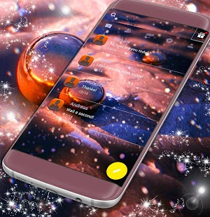 Beautiful SMS Themes - náhled