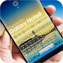 Keyboard for Galaxy Note 8 icon