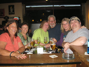 Photo: Left to right:  Sandra Gallo, Gina Fossler, Jill Underood, Tom Hischke and wife VIcki, and Carl Underwood Jr.