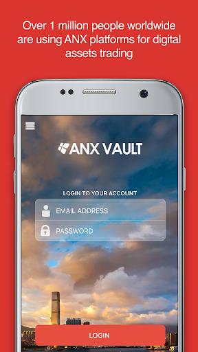 ANX Vault: Your Bitcoin Wallet screenshots 1