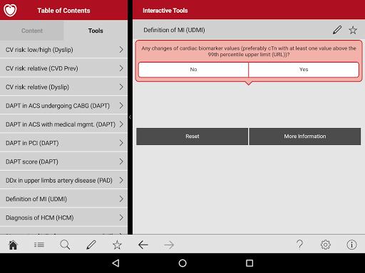 ESC Pocket Guidelines 4.4 Screenshots 8