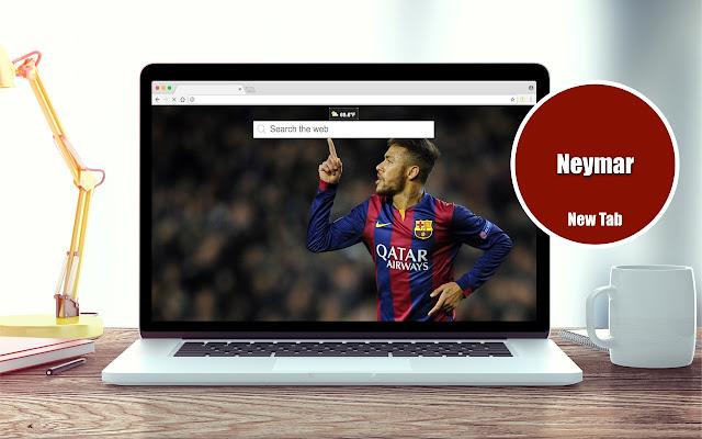 Neymar Wallpapers New Tab Theme