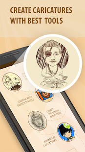 Moments Cartoon Caricature - selfie network cam- screenshot thumbnail