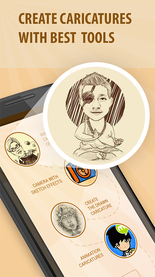 Moments Cartoon Caricature - selfie network cam- screenshot