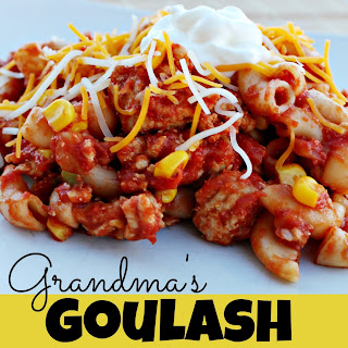 Grandma's Delicious Goulash.
