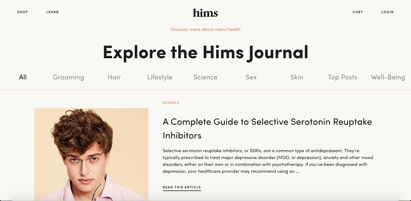 Hims - Content UGC - DTC Growth