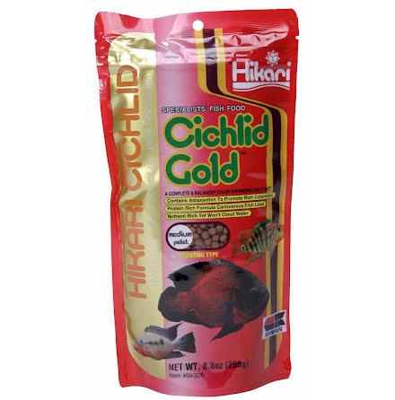 Hikari Ciklid Gold Färg Medium Flytande