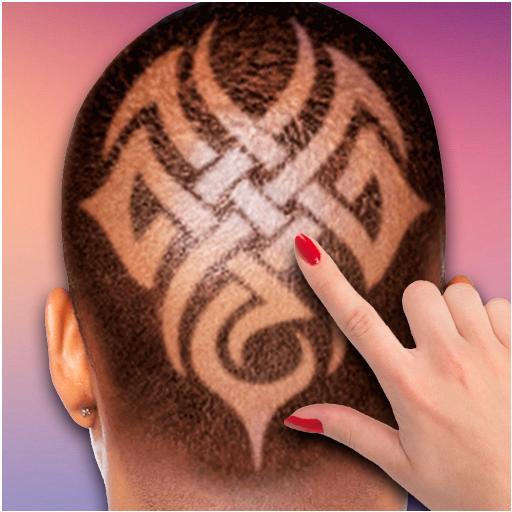 Draw on the hair prank 娛樂 LOGO-玩APPs