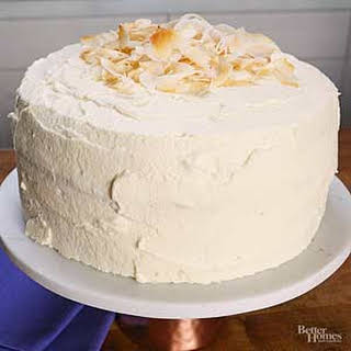 Coconut Milk Cake.