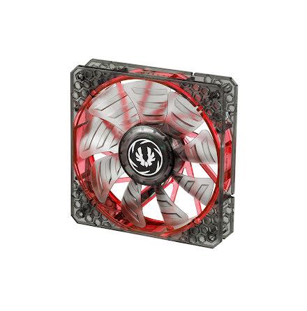 Bitfenix vifte m/rød LED, Spectre PRO, 120x25