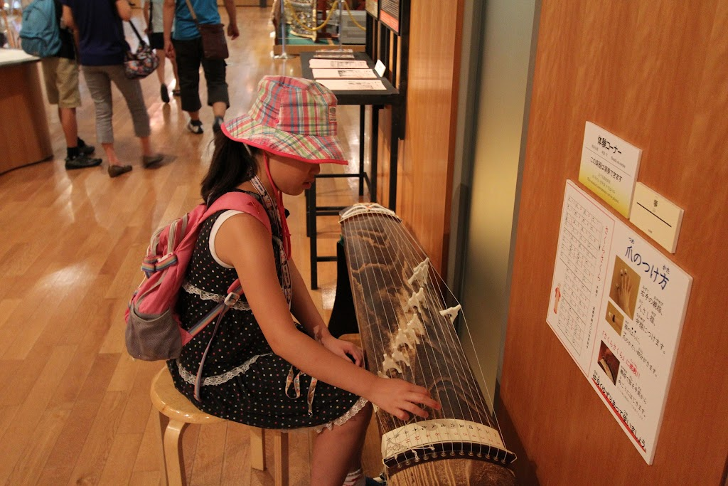 ムスメと二人旅3日目 浜松楽器博物館&科学館
