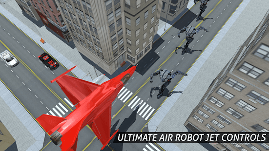 Air Robot Game - Flying Robot Transforming Plane- screenshot thumbnail