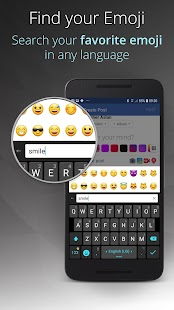 Ginger Keyboard - Emoji, GIFs, Themes & Games Screenshot