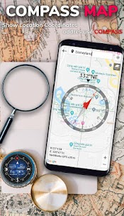 Compass App: Smart Compass for Android 9
