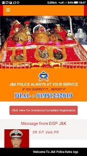 Katra Police App for Mata Vaishnodevi Pilgrims - náhled