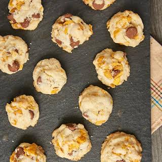 Corn Flake Chocolate Chip Cookies.
