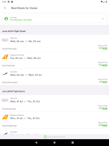 Wego Flights, Hotels, Travel Deals Booking App 6.0.7 Screenshots 14