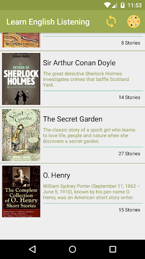 Screenshot for English Story with audios - Audio Book in Hong Kong Play Store