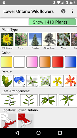 android Ontario Wildflowers Screenshot 0