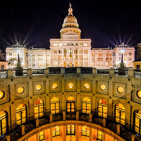 Capitol Of Texas by Craig Curlee - Buildings & Architecture Public & Historical ( austin, building, texas, historical, capitol )