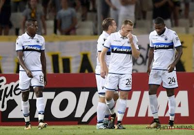 Club Brugge gaat pijnlijk onderuit op bezoek bij AEK Athene: 3-0