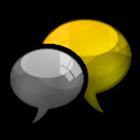 GO SMS Canary Cobalt - Theme icon