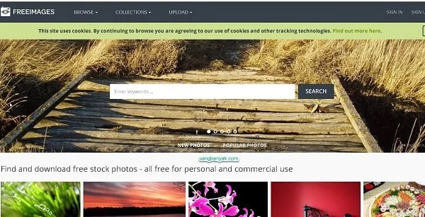 penyedia gambar gratis freeimages untuk keperluan blogging