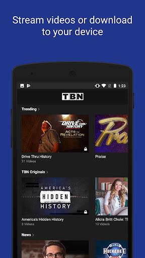 TBN: Watch TV Shows & Live TV 4.401.1 screenshots 4