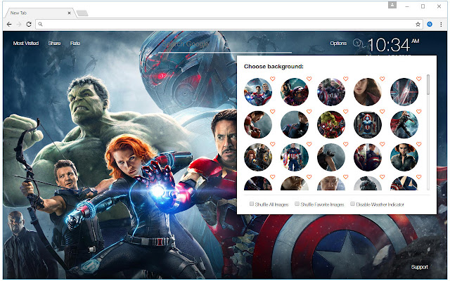 The Avengers Hd Wallpaper New Tab Themes