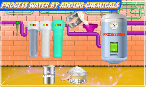 Mineral Water Factory: Pure Water Bottle Games 1.0 screenshots 2