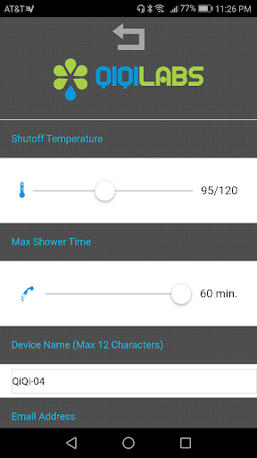QiQi Smart Shower Apk 2