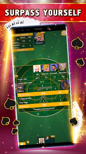 Spades Offline - Single Player apkdebit screenshots 5
