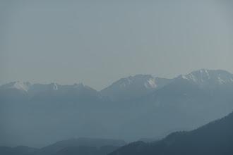 中央右に空木岳
