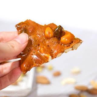 Heavenly Nut & Honey Candy (Homemade Brittle Recipe).