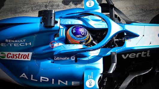 Alonso  decimoquinto en la parrilla del GP de Emilia Romagna
