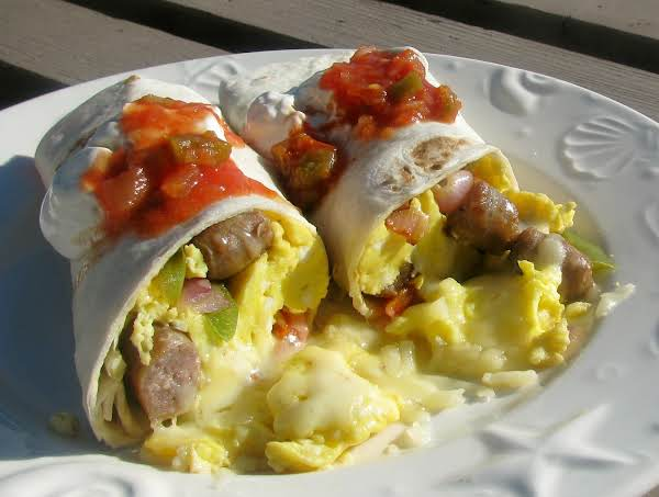 Sunrise Burrito