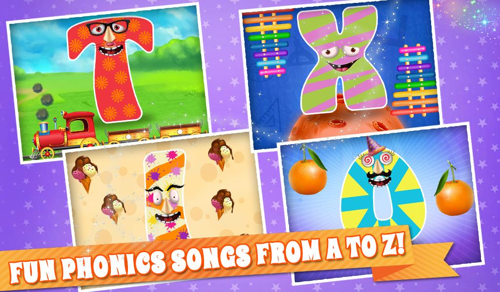 Learning ABC With Fun For Kids- screenshot