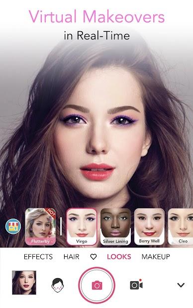 YouCam Makeup - Magic Selfie & Virtual Makeovers Android App Screenshot