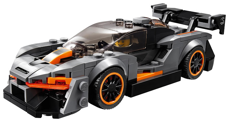 One of the world's fastest supercars gets immortalized by Lego. Picture: SUPPLIED