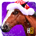 Customize Winter Racing Horse icon