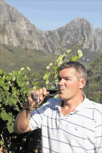 Winemaker Simon Thompson