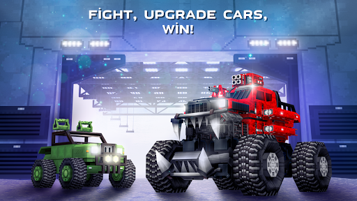 Blocky Cars - Shooting games, robo wars android2mod screenshots 6