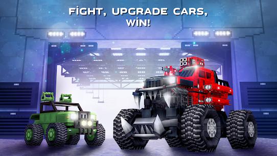 Blocky Cars Online Mod Apk 7.7.1 (Unlimited Ammo + God Mode) 6