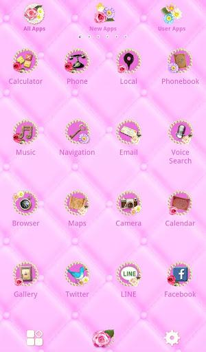 Cute Theme-Flowery Princess- 1.0.0 Windows u7528 3