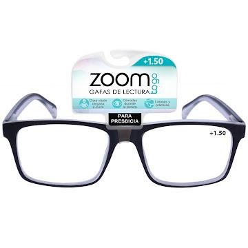 Gafas Zoom Togo Lectura Basic Metal 1 Aumento 1.50 X1 Und.