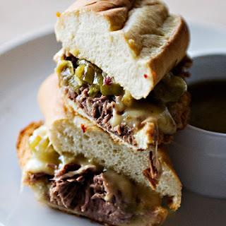 Italian Drip Beef Sandwiches